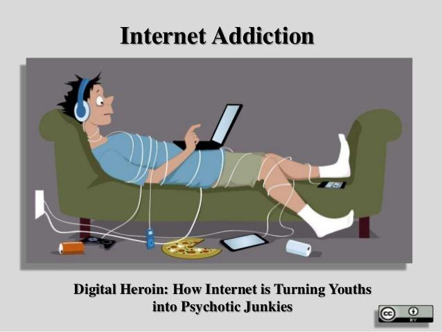 إدمان الإنترنت لدى الشباب